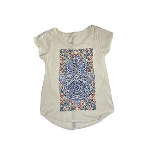 Lucky Brand Namaste T-Shirt Multicolor Shortsleeve